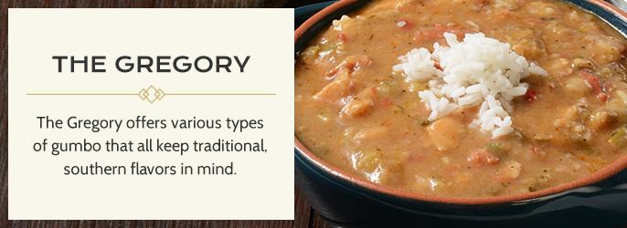 Restaurants That Serve Gumbo in Baton Rouge | The Gregory